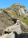 San Juan de Gaztelugatxe, Bermeo (Basque Country) Royalty Free Stock Photos