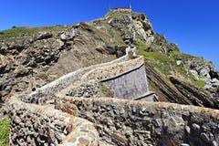 San Juan de Gaztelugatxe island, Bizkaia, Basque Country Royalty Free Stock Images