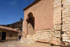 San Juan de la Cuesta church in Mudejar style, Daroca. Zaragoza Royalty Free Stock Photography