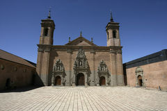 San Juan De La Pena monastery Stock Photo