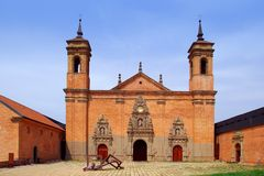 San Juan de la Pena new Monastery Royalty Free Stock Photos