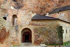 San Juan de la Pena romanesque Monastery Stock Image