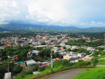 San Juan de los Morros. View of the city of San Juan de los Morros, Guarico State , Venezuela Royalty Free Stock Image
