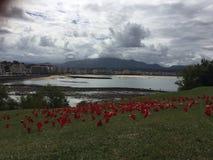 San Juan de Luz lizenzfreie stockbilder