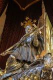 San Juan de Nepomuk en St Vitus Cathedral Imagenes de archivo