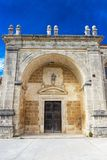San Juan de Ortega Monastery, Espanha foto de stock