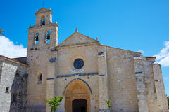 San Juan de Ortega by the Way of Saint James. San Juan de Ortega church by the Way of Saint James in Castilla Burgos Royalty Free Stock Photography