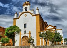San Juan de Sahagun church Royalty Free Stock Image