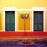 San Juan de sentido único Fotografia de Stock