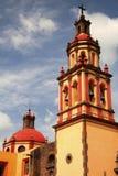 San juan del rio church Stock Photography