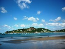 San Juan del Sur Beach Town Images stock