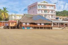 San Juan del Sur main beach at the Pacific Ocean shore Stock Photo