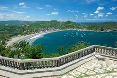 San Juan del Sur Nicaragua bay Royalty Free Stock Photo