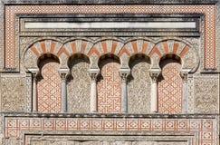 San Juan Door à la mosquée de Cordoue, Andalousie, Espagne Image libre de droits