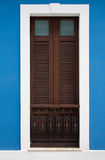 San Juan doorway. A doorway in Old San Juan, Puerto Rico Royalty Free Stock Image