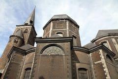 San Juan Evangelista la iglesia en Lieja Bélgica Imagenes de archivo