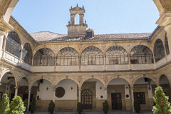 San Juan Evangelista University kapellkloster, gammalt universitet, royaltyfria foton