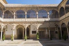 San Juan Evangelista University kapellkloster, gammalt universitet, royaltyfri fotografi