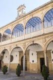 San Juan Evangelista University kapellkloster, gammalt universitet, arkivbilder