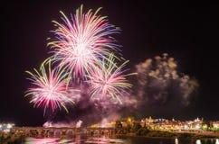 San Juan Fireworks 2017 Stockbilder