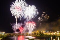 San Juan Fireworks 2017 Stockfoto