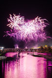 San Juan Fireworks 2017 Stockfotografie