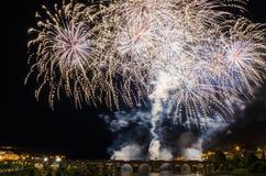 San Juan Fireworks 2017 Lizenzfreie Stockbilder