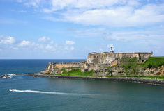 San Juan Fort Stock Image
