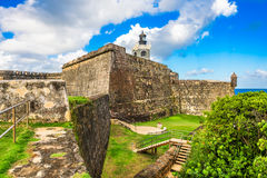 San Juan Fort Royalty Free Stock Photography
