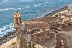 San Juan, Fort San Felipe del Morro Royalty Free Stock Photo