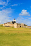 San Juan, Fort San Felipe del Morro Stock Photos
