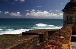San Juan - forte San Cristobal Foto de Stock