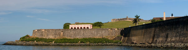 San Juan fortification Stock Images