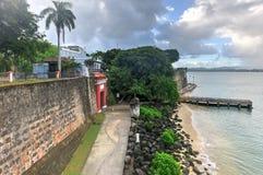 San Juan Gate - il Porto Rico Immagini Stock Libere da Diritti
