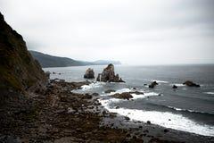 San Juan Gaztelugatxe στοκ εικόνες