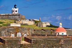 San Juan - Gr Morro Royalty-vrije Stock Afbeeldingen