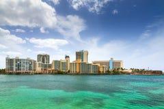 San Juan Green And Blue Stock Photo