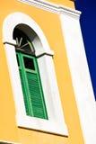 San Juan - helle karibische farbige Architektur lizenzfreie stockbilder