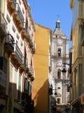 San Juan iglesia-MÁLAGA fotos de archivo