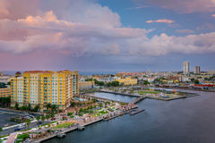 San Juan im nPink Lizenzfreie Stockbilder