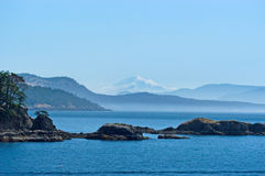 San Juan islands Stock Images