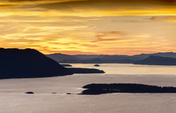 The San Juan Islands Stock Photos