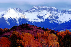 San Juan mountains. In Telluride Colorado Stock Image