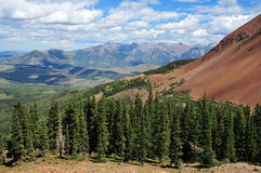 San Juan Mountains, Colorado Royaltyfria Foton