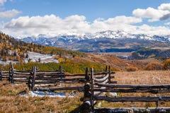 San Juan Mountains de Colorado fotos de archivo libres de regalías