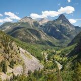 San Juan Mountains Scenery in Colorado Stock Photography