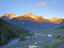 San Juan Mountains sunrise Royalty Free Stock Image