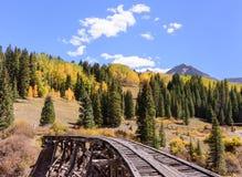 San Juan Mountains van Colorado in de Herfst royalty-vrije stock afbeeldingen