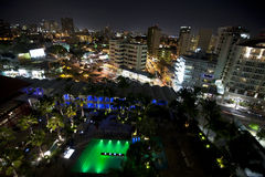 San Juan nachts Lizenzfreies Stockbild