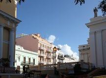 San Juan old town Royalty Free Stock Photo